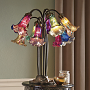 10 lily lamp