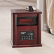 deluxe infrared cabinet heater by comfort zone 44