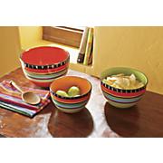 3 pc  pueblo springs mixing bowl set