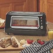 2-Slice Glass Window Toaster by Dash