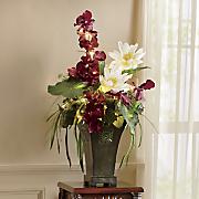 Lit Aberdeen Floral Arrangement