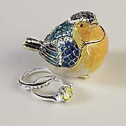 Bird Jewerly Box Decoration
