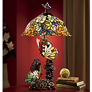 stained glass butterfly lamp 102