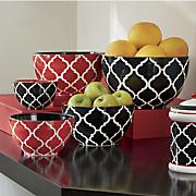 5 pc  arabesque bowl set