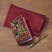bangle journal with pouch and pen