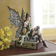 air voyage fairy figurine