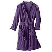 ruffled perfection robe