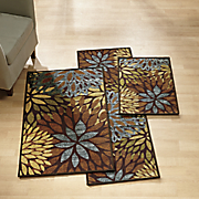 3 pc  cleopatra rug set