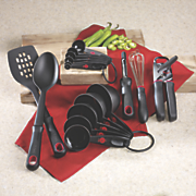 16 pc  tool and utensil set by t fal