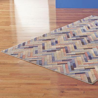 Caftan Stripe Rug by Mohawk