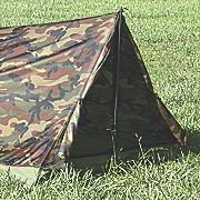 camo trail tent