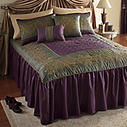 Chadwicke Skirted Comforter Set, Pillows and Window Treatments