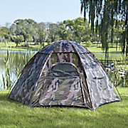 camouflage hexagon 3 person tent by texsport