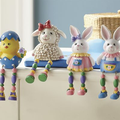 4-Piece Easter Shelf Sitters Set
