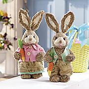 wicker bunnies