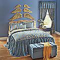 Capella Skirted Comforter Set