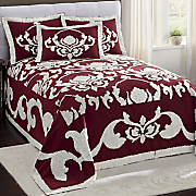 windsor chenille bedspread and sham