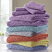 6 pc  duchess towel set