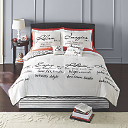 Relax Comforter Set and Pillows