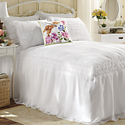 Savannah Smocked Bedding and Window Treatment