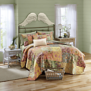 rosalinda quilt  pillow and sham