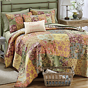 Rosalinda Quilt, Pillow and Sham