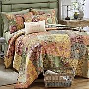 rosalinda quilt  pillow and sham