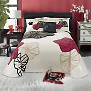 Echo Chenille Bedspread, Sham and Pillow