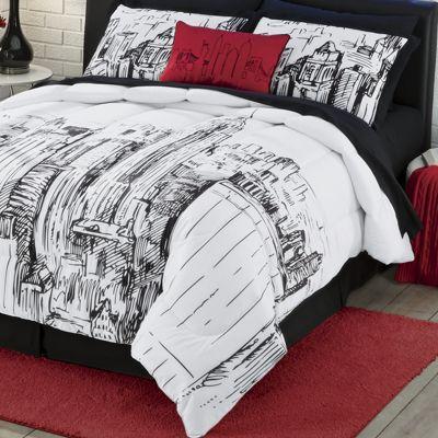 Ny Ny Skyline Pillow