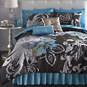 allure comforter set  pillows and panel pair