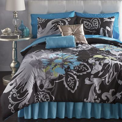 Allure Comforter Set and  Pillows
