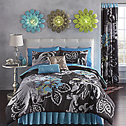 Allure Comforter Set, Pillows and Panel Pair