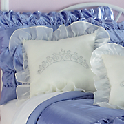 enchanting tiara sparkle pillow