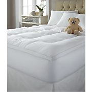 memory fiber deluxe mattress topper by snuggle home