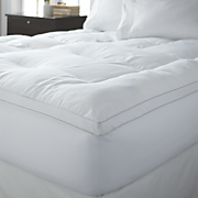 memory foam   fiber mattress topper by snuggle home