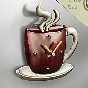 coffee mug clock