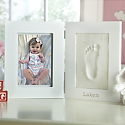 Personalized Baby Frame and Footprint Kit