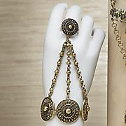 Exotic Medallion Hand Jewelry