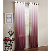 ombre sheer panel