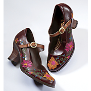 Sepia Mary Jane by Spring Footwear