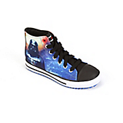 star wars kids  high top shoes