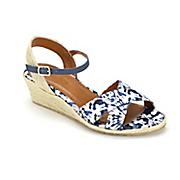 tie dye capri wedge by beacon shoes
