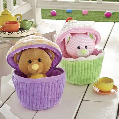 Animal Cupcake Surprise!