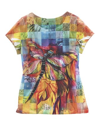 Bright Dragonfly Tee