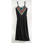 cancun embroidered dress