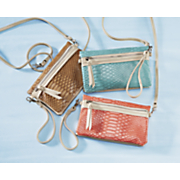 2 in 1 wristlet cross body with phone charger