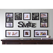 smile photo frame collage