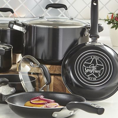 10-Piece Nonstick Aluminum Cookware Set by Guy Fieri