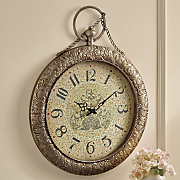 Embossed Wall Clock