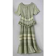 prairie sage top and skirt set